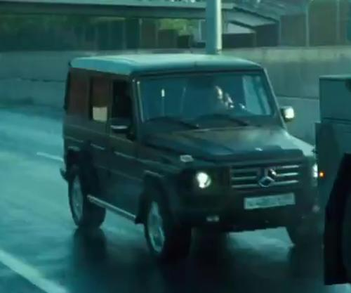 No Actor with Mercedes-Benz G-Class SUV in A Good Day to Die Hard