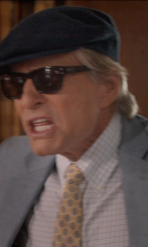 Michael Douglas with GIORGIO ARMANI Newsboy Cap in And So It Goes