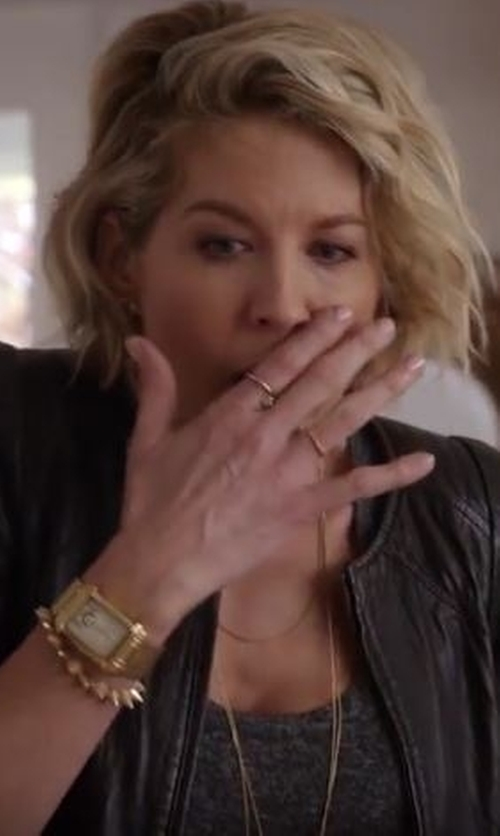 Jenna Elfman with Eddie Borgo Small Cone Bracelet in Imaginary Mary