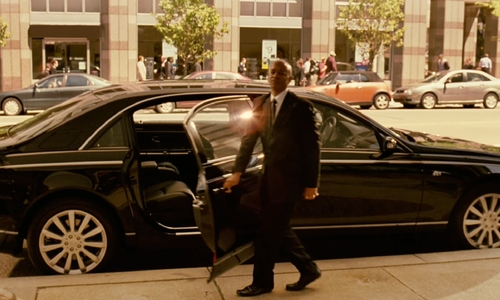 Unknown Actor with Maybach Maybach 62 S in Limitless