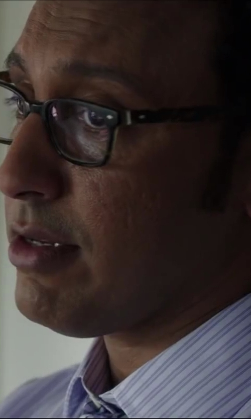 Aasif Mandvi with LUNETTES KOLLEKTION 'Fräuleinwunder' glasses in Million Dollar Arm