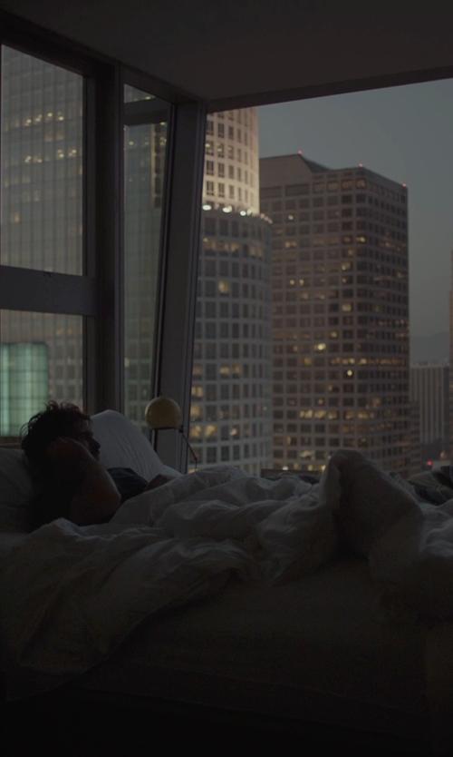 Joaquin Phoenix with Utopia Bedding Duvet Set in Her