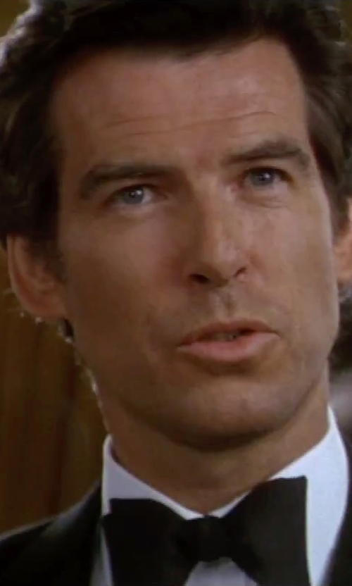 Pierce Brosnan with Brooks Brothers Butterfly Pre-Tied Bow Tie in GoldenEye