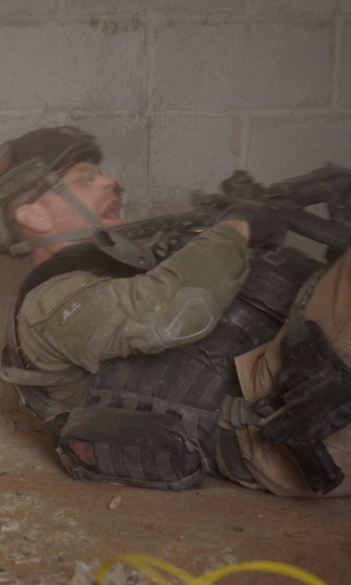 Max Martini with galaxyarmynavy Black - Leg Strap Tactical Holster Glock in Sabotage