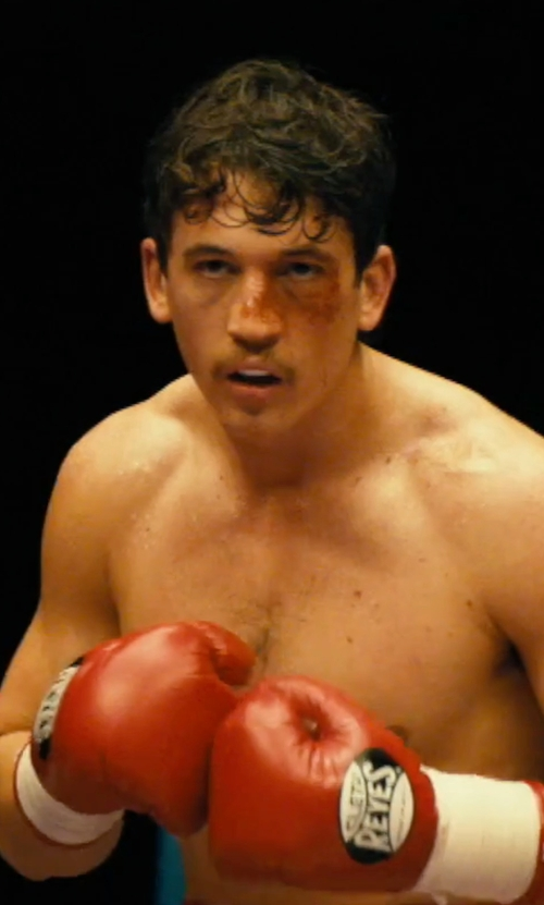 Miles Teller with Reyes Pro Fight Gloves in Bleed for This