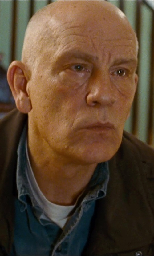 John Malkovich with Capezio Tactel Crew Neck T-Shirt in Cut Bank