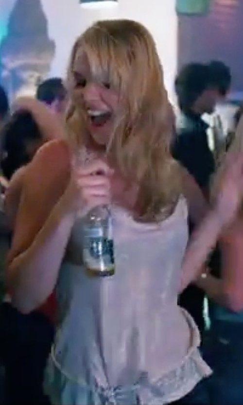 Katherine Heigl with Michael Stars Tank Top in Knocked Up