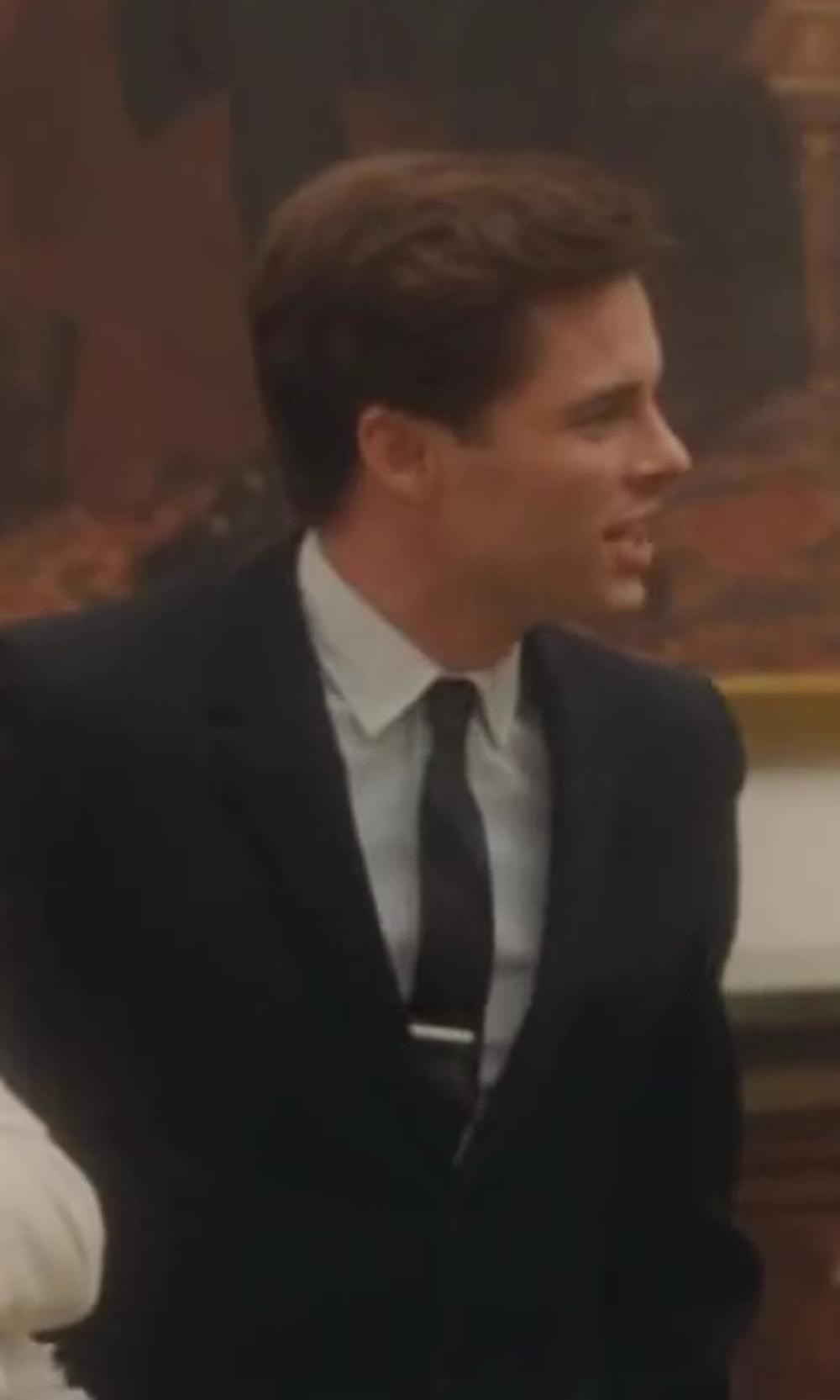 James Marsden with Theory Keyport Dress Shirt in Lee Daniels' The Butler