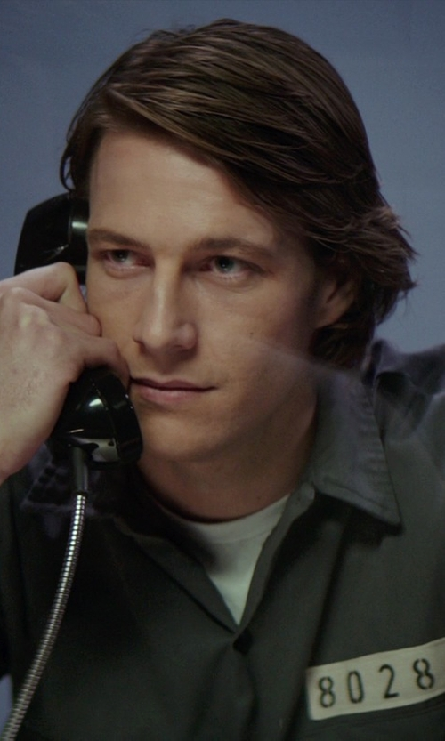 Luke Bracey with The Rail Trim Fit Crewneck T-Shirt in The Best of Me
