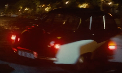 Alicia Vikander with Wartburg 311 Car in The Man from U.N.C.L.E.