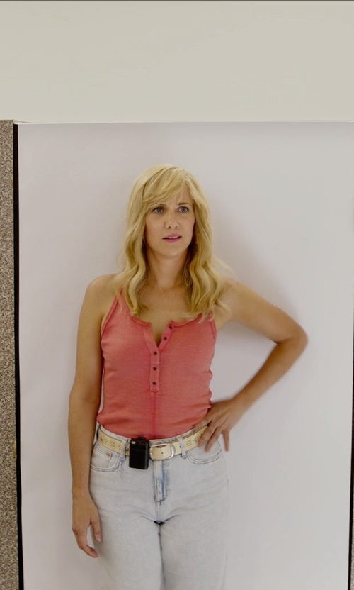 Kristen Wiig with Motorola Bravo Classic Prop Pager in Masterminds