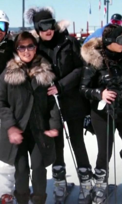 Khloe Kardashian with Dalbello Kyra Women's Ski Boots in Keeping Up With The Kardashians