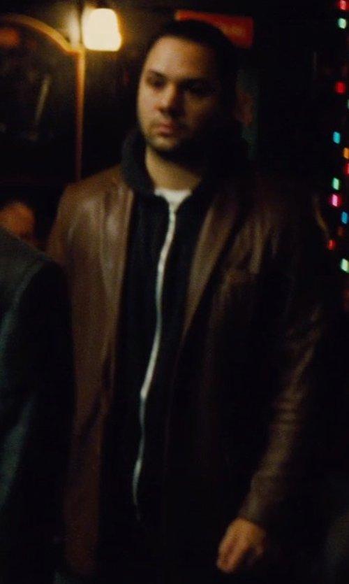 Ilan Krigsfeld with Number Lab Hoodie Jacket in Run All Night