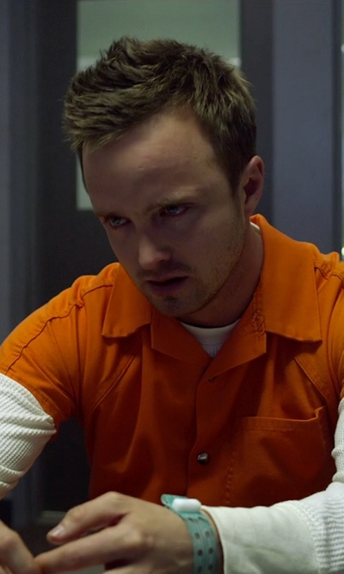 Aaron Paul with PX Direct Inmate Jumpsuit in Need for Speed