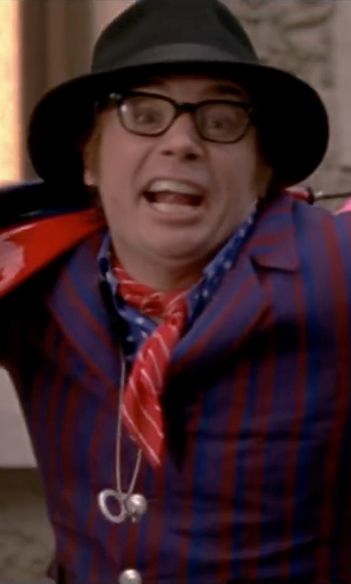 Mike Myers with Saks Fifth Avenue Collection Wool Fedora Hat in Austin Powers in Goldmember