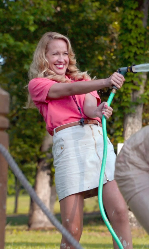 Anna Camp with Molten Blazza Whistle in Pitch Perfect 2