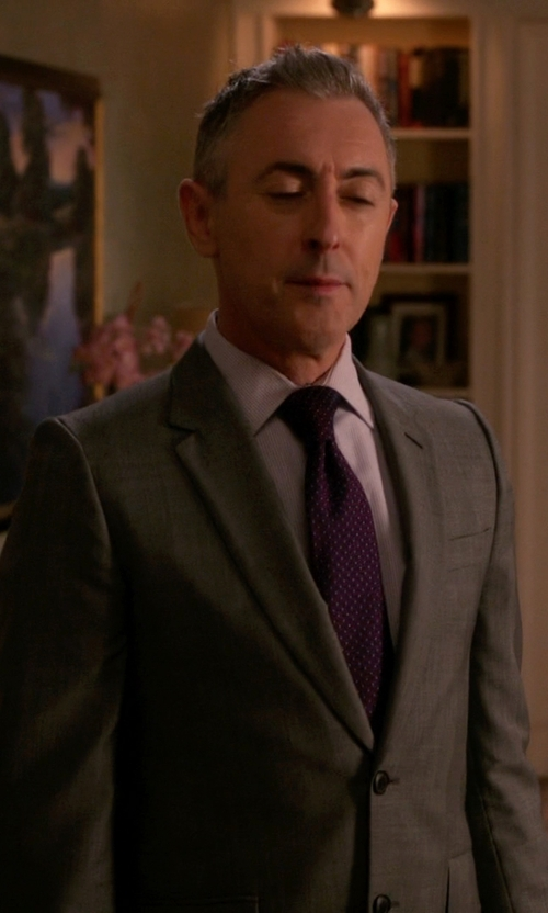 Alan Cumming with Canali Two Piece Suit in The Good Wife