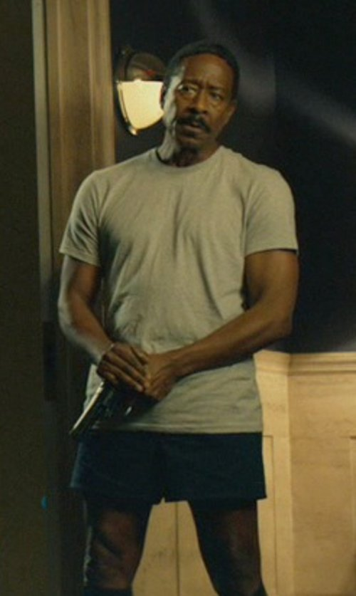 Clarke Peters with Rag & Bone Standard Issue Basic T-Shirt in John Wick