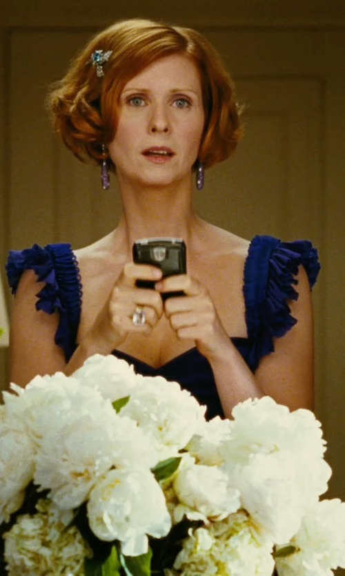 Cynthia Nixon with Blackberry Bold Unlocked Phone in Sex and the City