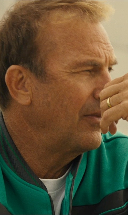 Kevin Costner with Calvin Klein Modal Blend Crewneck T-Shirt in McFarland, USA
