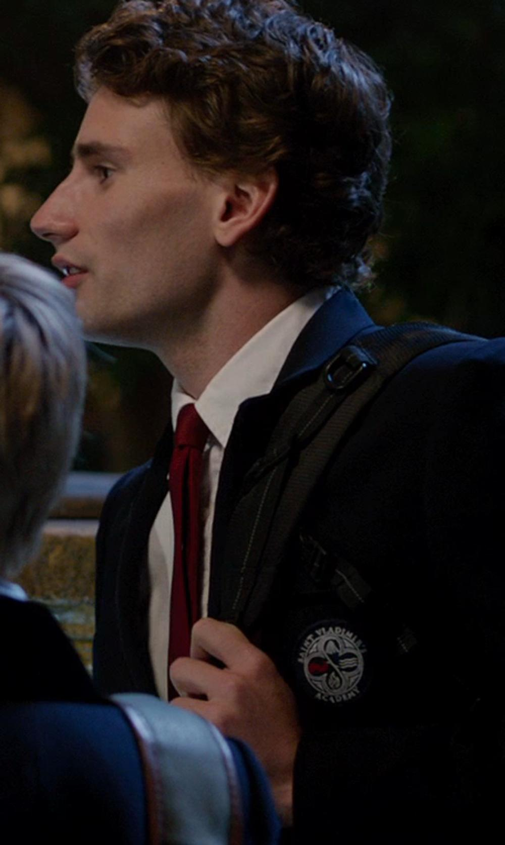 Edward Holcroft with PAUL SMITH Tie in Vampire Academy