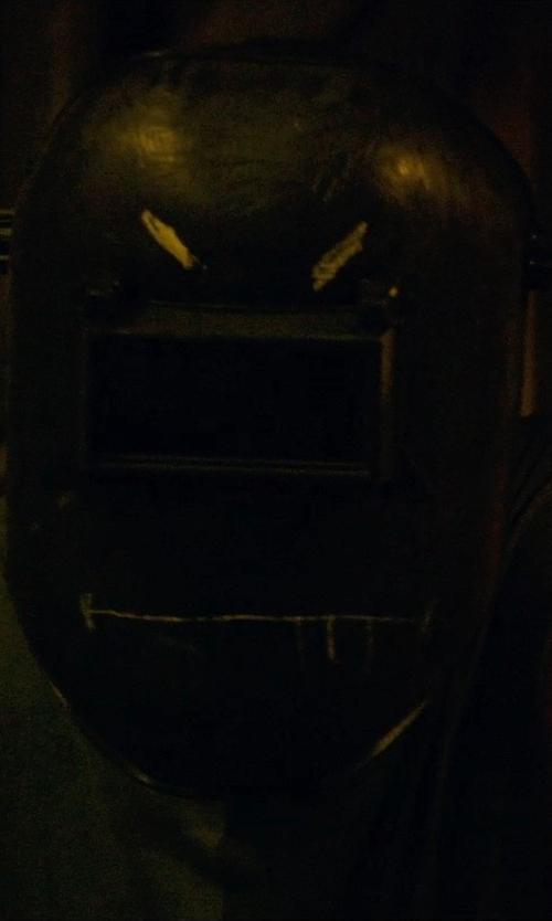Channing Tatum with Hobart Flip Front Welding Helmet in Magic Mike XXL