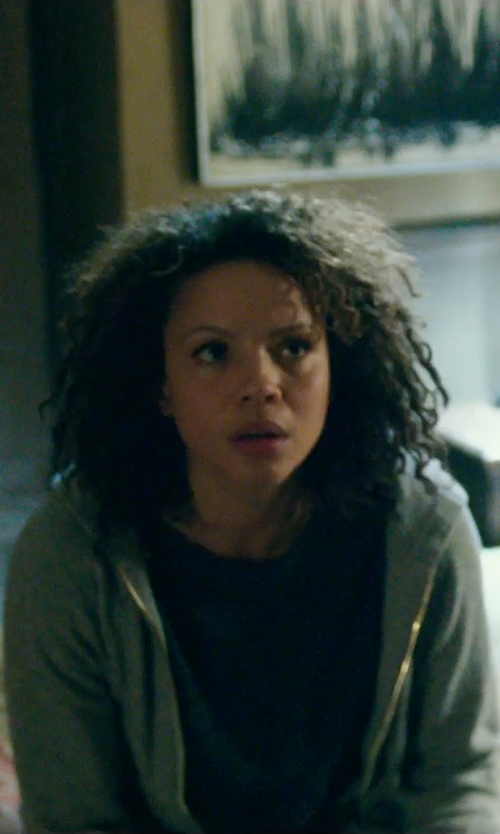 Carmen Ejogo with Current/Elliott The Freshman Tee in The Purge: Anarchy