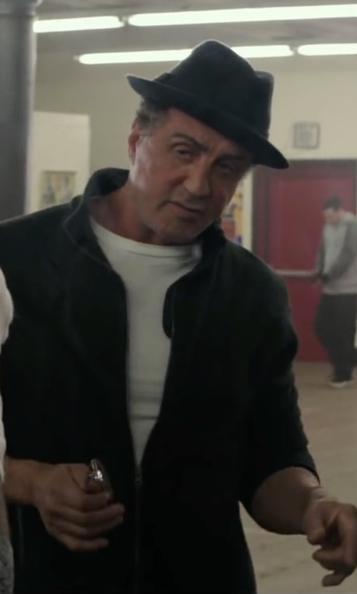 Sylvester Stallone with Carhartt Quick Duck Pineville Jacket in Creed