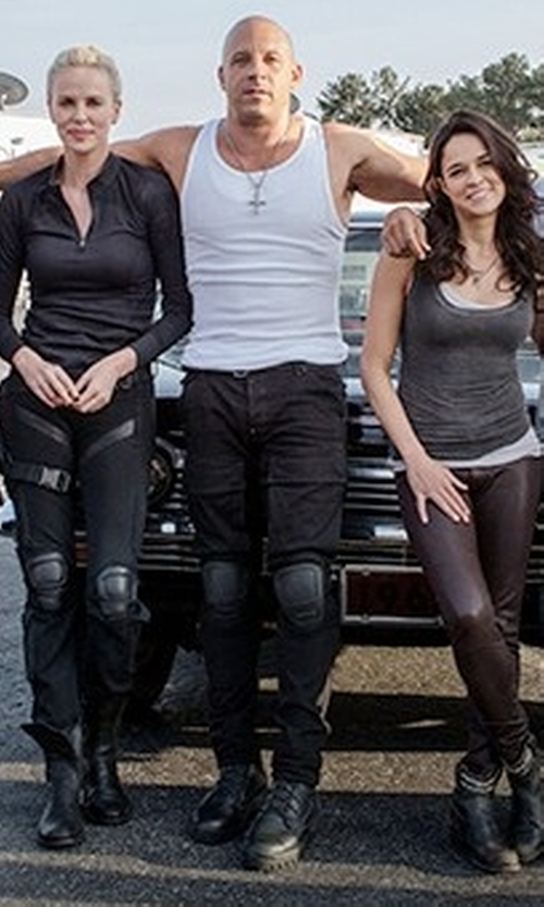 Vin Diesel with Timberland Chestnut Ridge Waterproof Boots in The Fate of the Furious