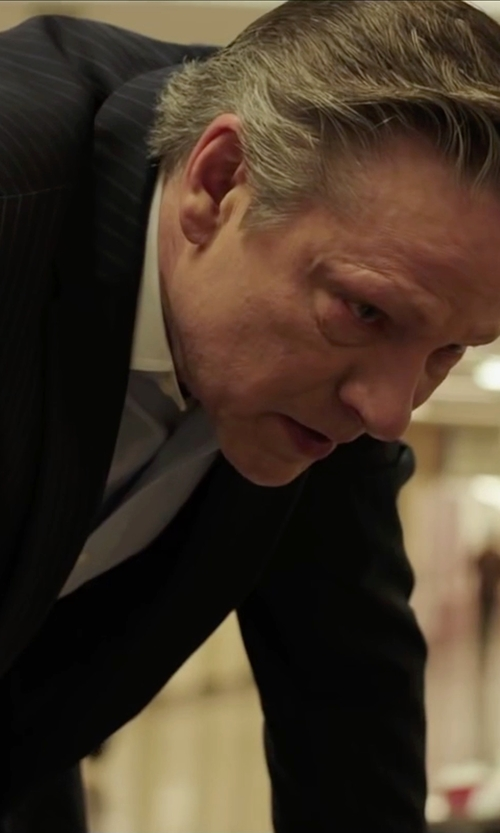 Chris Cooper with Stefano Ricci	 Basic Solid Barrel-Cuff Dress Shirt in Demolition