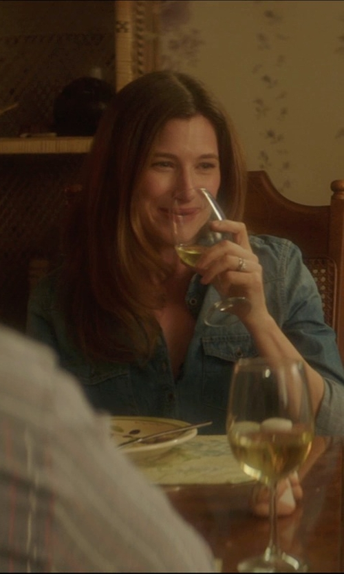Kathryn Hahn with Rogaska Expert Cabernet Wine Glasses in The D Train