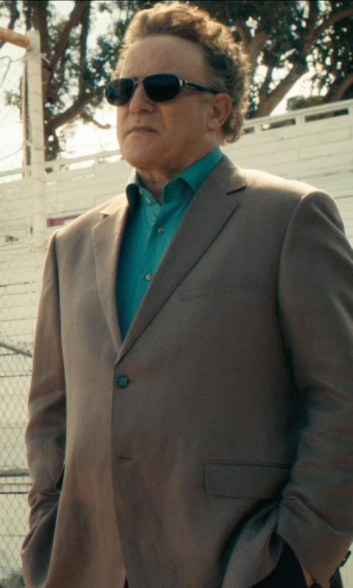 Albert Brooks with Calvin Klein Slim-Fit Malik Suit in Drive