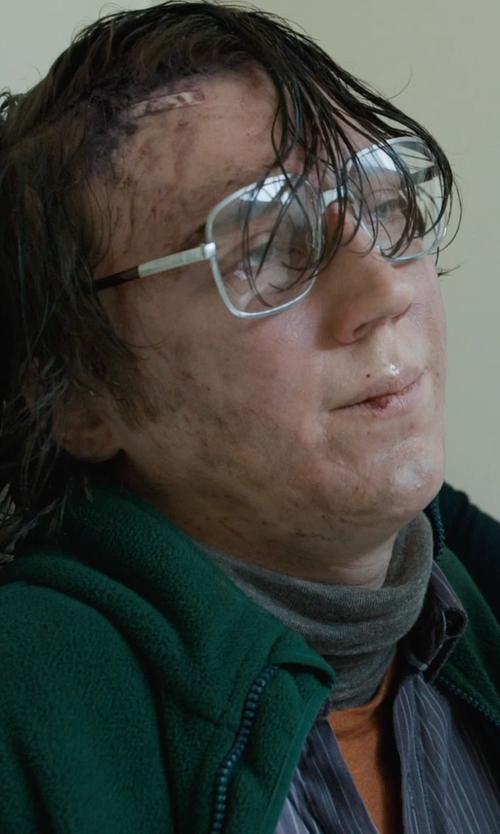 Paul Dano with Carhartt Turtleneck Sweater in Prisoners