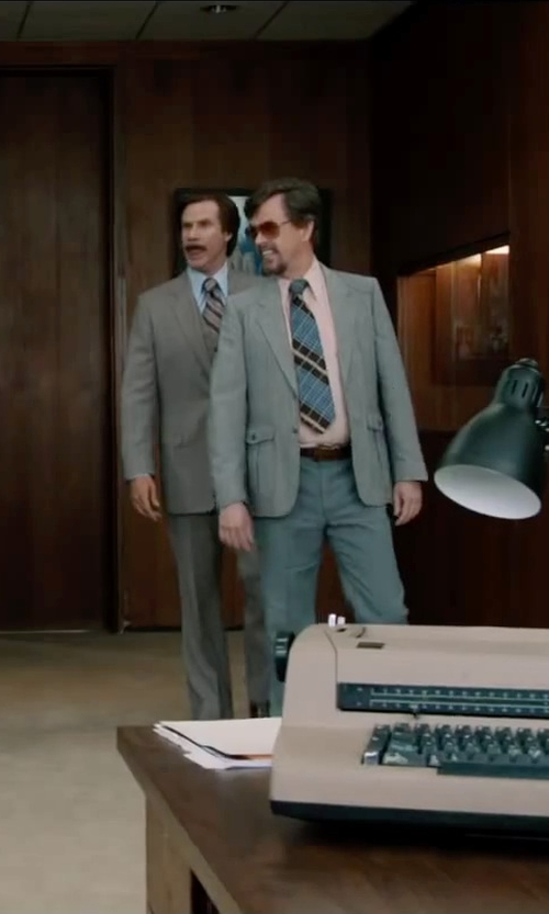 Dylan Baker with Torino Leather Co. Kipskin Leather Belt in Anchorman 2: The Legend Continues