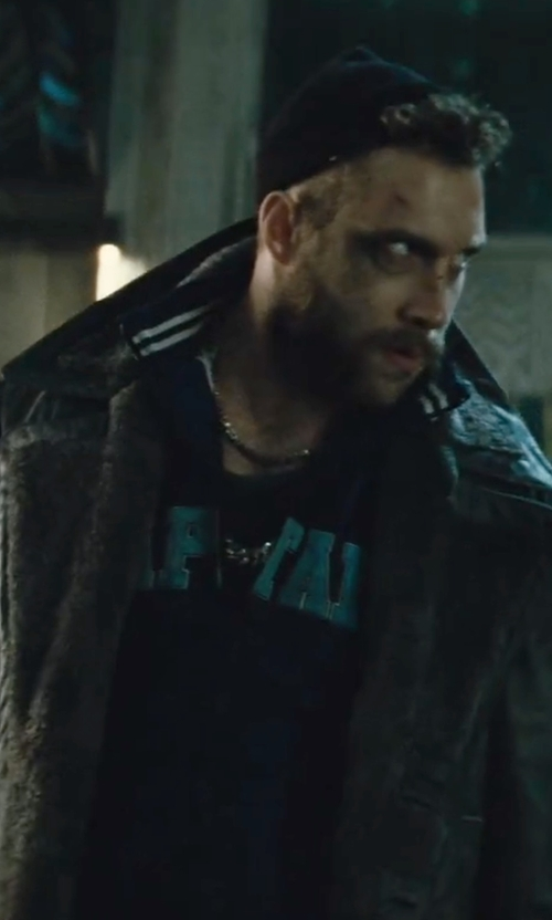 Jai Courtney with Nautica Men's Zip-Front Active Jacket in Suicide Squad