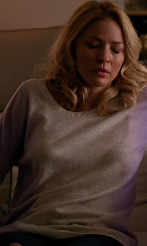 Tabrett Bethell with Vince Ombré Sweater in Mistresses
