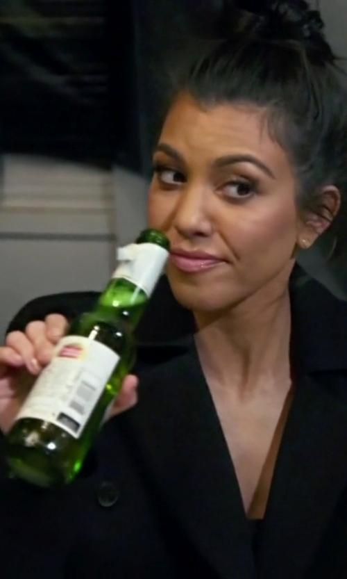 Kourtney Kardashian with Emporio Armani Double Breasted Blazer in Keeping Up With The Kardashians