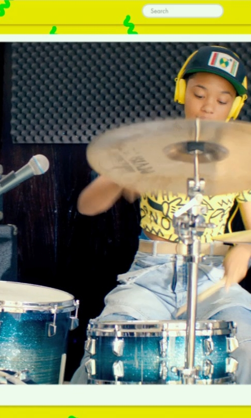 Kiersey Clemons with Ddrum Speakeasy Flyer Bop Drum Set in Dope
