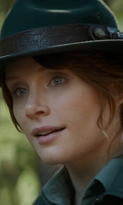 Bryce Dallas Howard with Brixton Tara Fedora Hat in Pete's Dragon