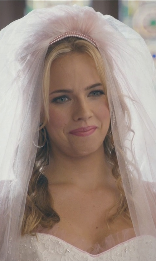 Jessica Barth with Katarina Diamond Hoop Earrings in Ted 2