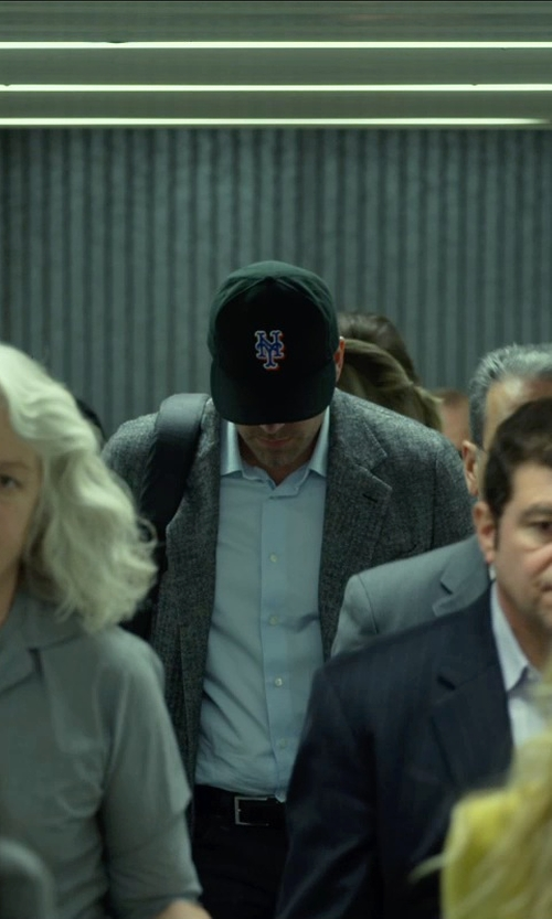 Ben Affleck with New Era New York Mets Authentic Collection On-Field 59FIFTY Alternate Cap in Gone Girl