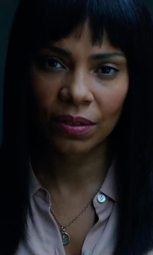 Sanaa Lathan with Amanda Uprichard Yvonne Top in American Assassin