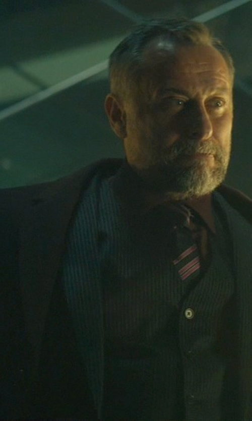 Michael Nyqvist with Brunello Cucinelli Single Breasted Blazer in John Wick