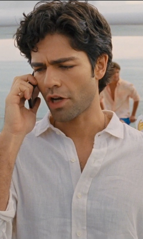 Adrian Grenier with Ugo Cacciatori Skull Necklace in Entourage