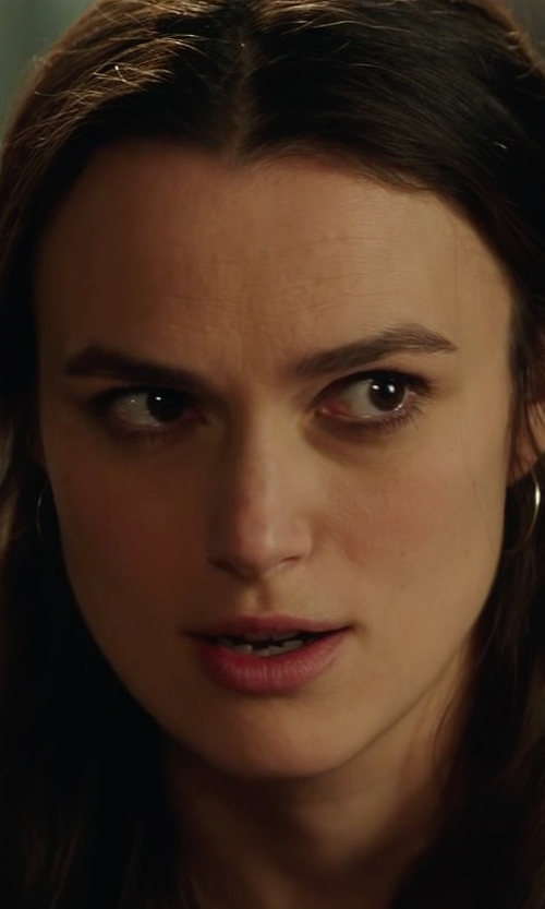 Keira Knightley with Zimmermann Henna T-Bar Top in Collateral Beauty