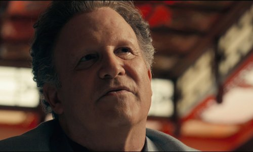 Albert Brooks with The Great Wall Chinese Restaurant Los Angeles, California in Drive