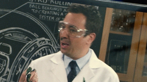 Jimmy Fallon with Crews Law Safety Goggles in Jurassic World