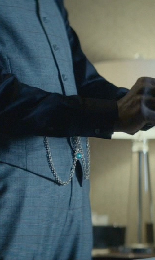 Clarke Peters with Catorex Gold Plated Brass Pocket Watch in John Wick