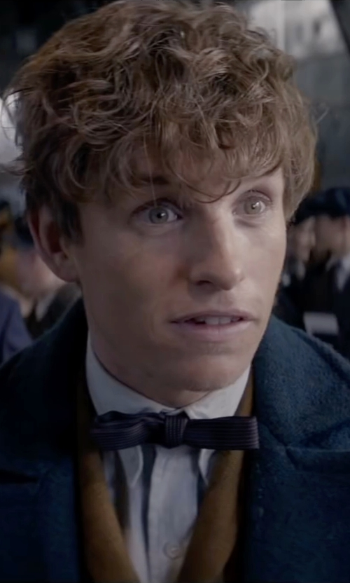 Eddie Redmayne with Amy2004marie Clip On Cotton Bow Tie in Fantastic Beasts and Where to Find Them