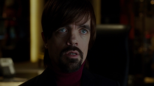Peter Dinklage with Saks Fifth Avenue Collection  Turtleneck Cashmere Sweater in The Boss